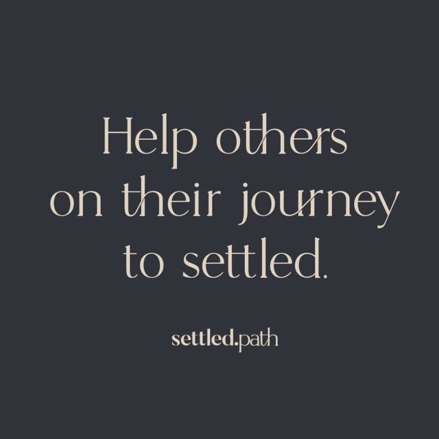 We believe everyone deserves to be #settled. That's why a portion of every project goes towards funding our Settled Path pro bono work.  Settled Pathbrings transformational organizing to those in our communities who can especially benefit, at no cost.  We know that an organized space is an organized mind and an organized mind is a thriving life.  #homeorganization #peaceofmind #healthymind #inspirationstartswithin #homedecor #organize #organizedmind #organization #pictureyourperfect #home #organizedlife #probono #organizer #thrive