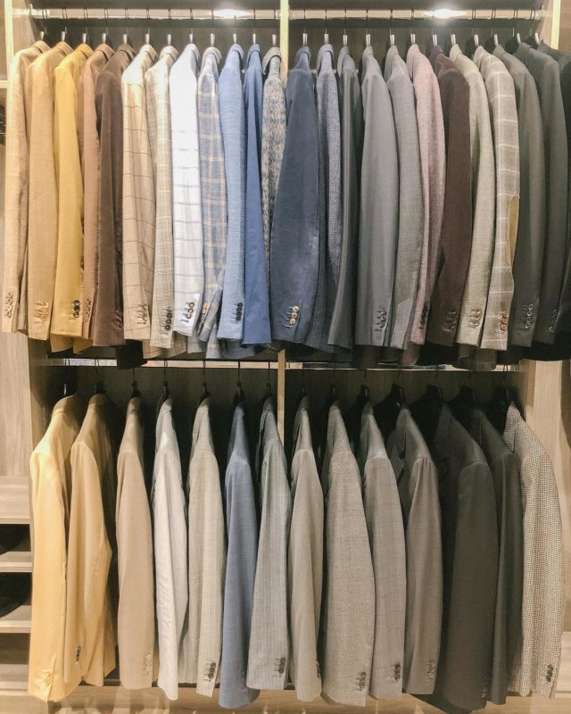 When you're ready to suit up, we've got you covered 😉  Settled CLOSETS ™️   #homeorganization #closets #menswear #mensweardaily #gq #inspirationstartswithin #closetdesign #suitup #gqstyle #closetgoals #settled